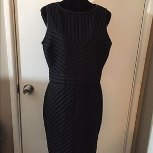 NWT Ralph Lauren Lace Black Dress size 14